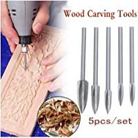 5PCS Wood Carving And Engraving Drill Bit Milling