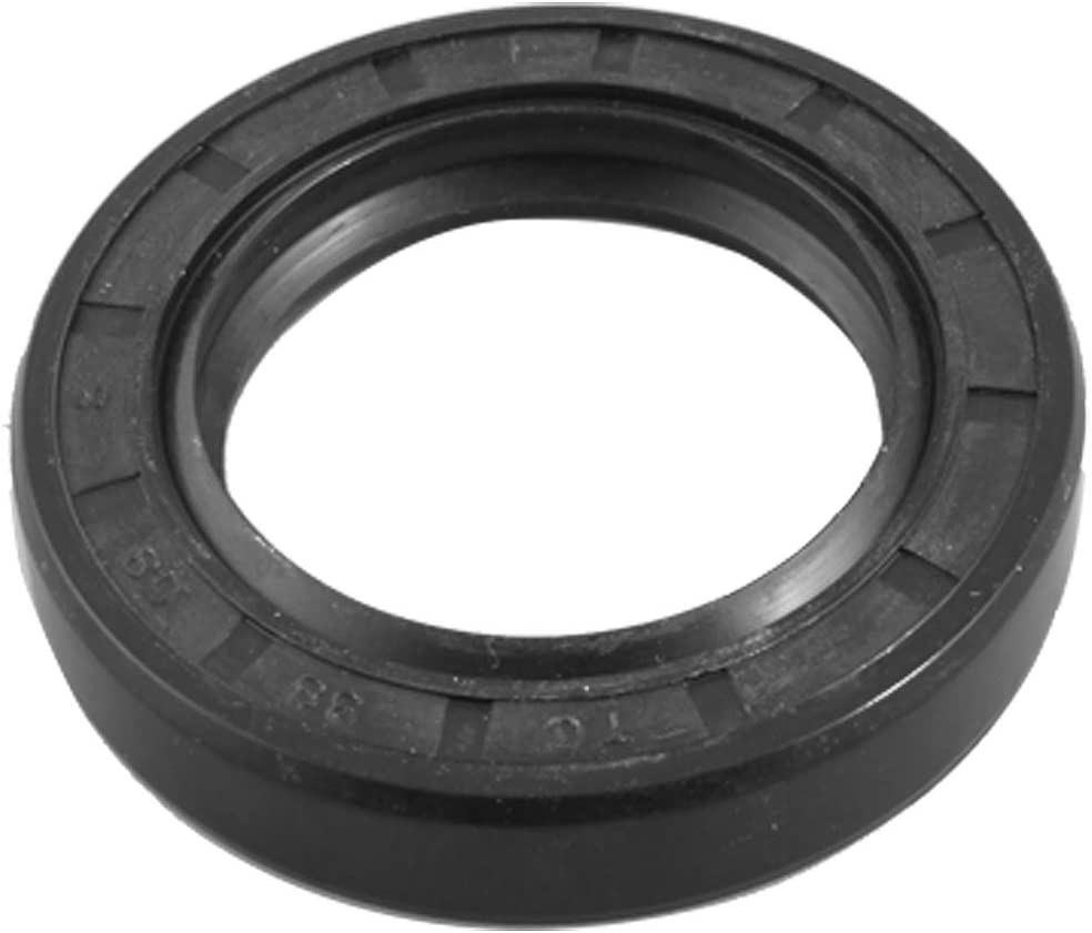 uxcell Polyurethane PU Ruber Coated Double Lip Oil Seal TC 38 x 58 x 8mm