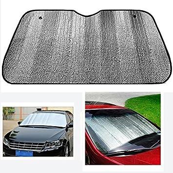 Amazon.com  Kigin Foldable Windshield Sunshade for Car UV Ray Reflector  Auto Front Window Sun Shade Visor Shield Cover-Silver  Baby 0f1e7632717