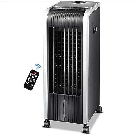 HONG FAN Ventilador Portátil del Acondicionador De Aire, Pequeño Ventilador Casero del Acondicionador De Aire del Control Remoto 26.5 * 32 * 73cm (80W / 220V): Amazon.es: Hogar