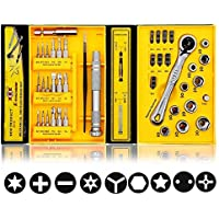 E.Durable Ratchet Wrench Screwdriver Set