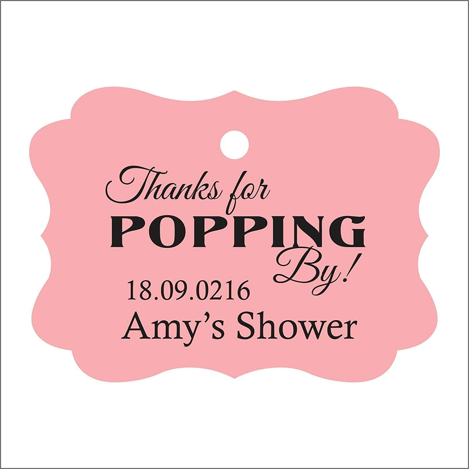 100 Personalized Custom Printed Cellophane Favor Bags
