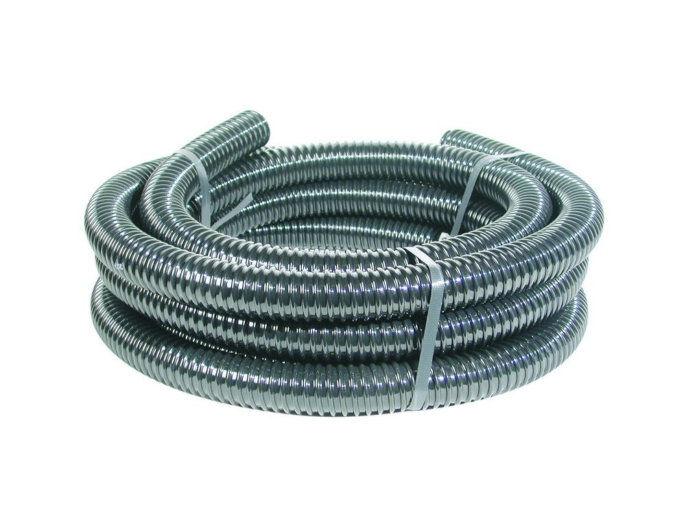 Aquascape Kink-Free Flexible Pipe for Pond, Pump, Filtration & Waterfall, 3/4'' x 25', Black | 94002