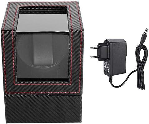Salmue Relojes AutomáTicos Caja de Carga de Reloj Reloj AutomáTico Caja Giratoria para Relojes Automatico Watch Capacidad(EU): Amazon.es: Joyería