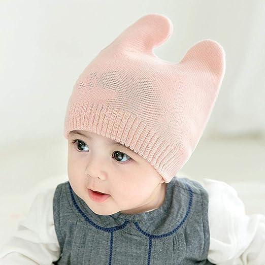 Myzixuan Otoño e Invierno niños y niñas Caliente Sombrero Sombrero ...