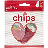 Pebbles We Go Together Die Cut Shapes Chipboard