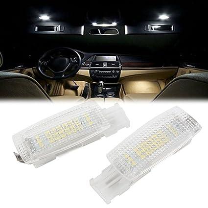 GZYF Par de Luces LED de tocador, 24 LED, Espejo Interior, para ...