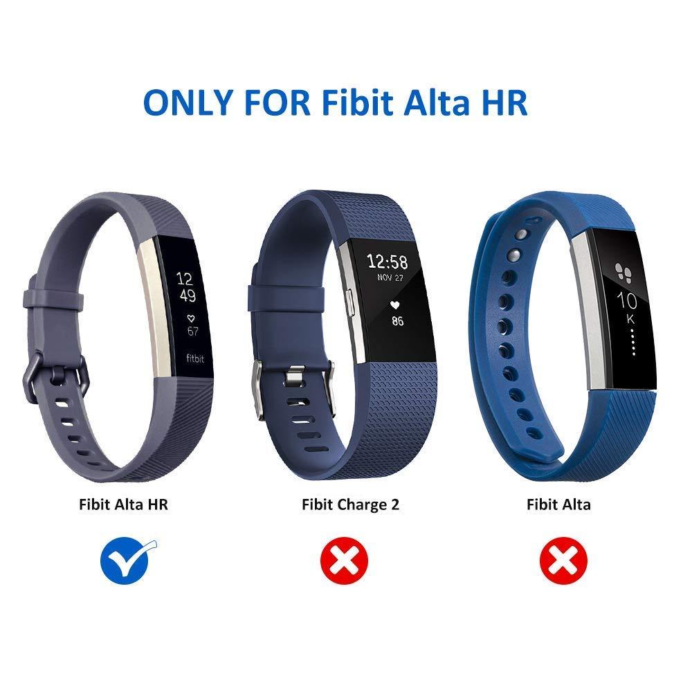 Excuty Cargadores con Fitbit Alta HR Cable, Cargador USB de reemplazo Cable de Carga Base adaptadora Cable Adaptador para Fitbit Alta HR Pulsera de ...