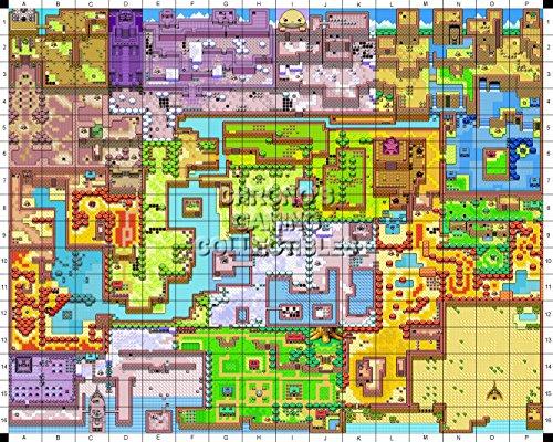 CGC Huge Poster - The Legend of Zelda Nintendo Oracle of Seasons Map - ZEL016 (16