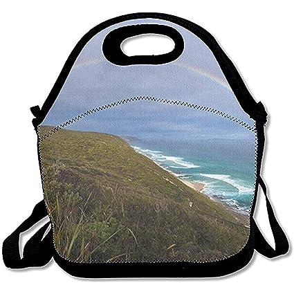 d2725b003a0b Amazon.com - Jubenlcai The Coast Durable Outdoor Lunch Bag Lunch Box ...