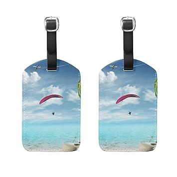 Amazon.com: LORVIES - Etiquetas de viaje, para equipaje ...