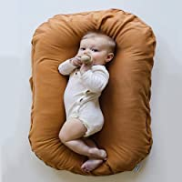 JINGMEI Baby Nid,100% Coton Anti-Allergique - Portable Doux Et Respirant Nouveau-né Bassinet Infantile,bébé Dormir Artefact,bébé 0 – 24 Mois