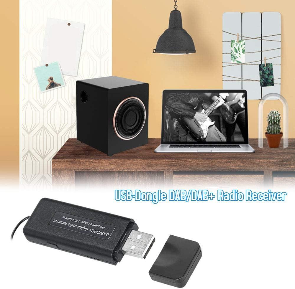 KKmoon Ricevitore USB Wireless Dongle Dab//Dab Ricevitore Radio