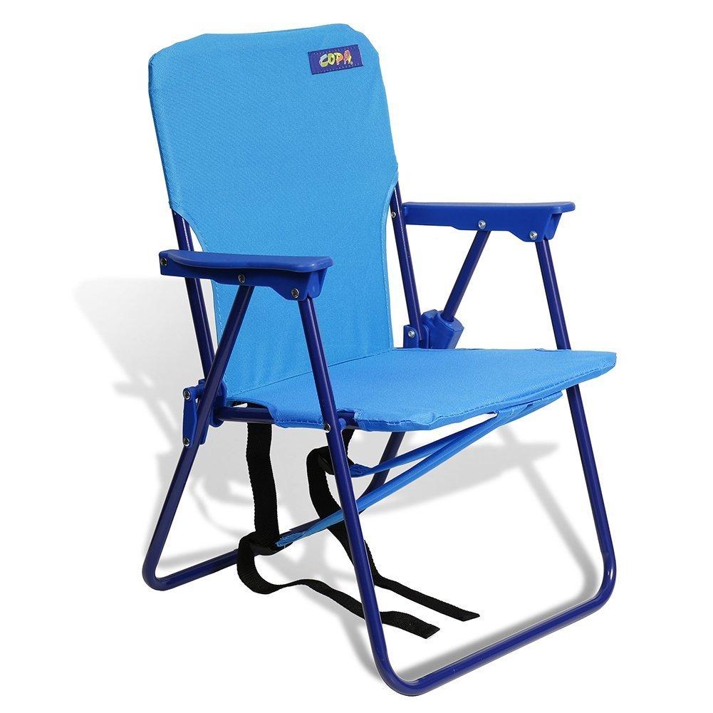 Copa 子供用 バックパックビーチチェア 70299blue B01D83QS7E ブルー ブルー