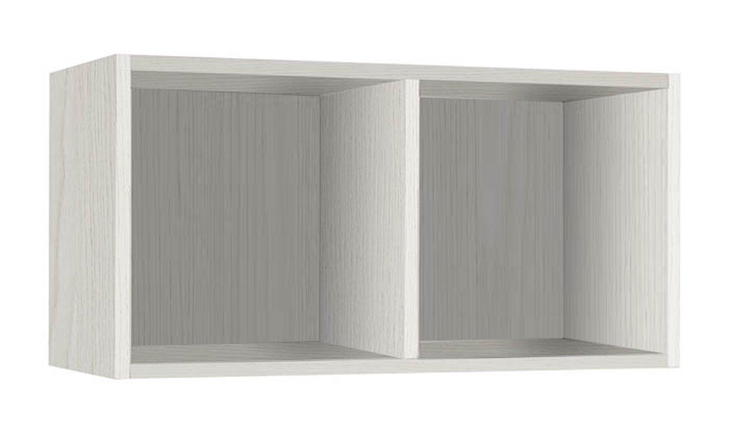 Giessegi Job 9335, estantería Horizontal para Colgar en la Pared, Madera, 316x 80x 40cm it home GIET66