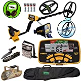 Cheap Garrett ACE 400 Metal Detector with DD Waterproof Coil, Pouch, Travel Bag, Metal Scoop, Edge Digger,