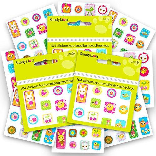 Easter Stickers for Kids Super Set -- Over 300 Spring Sticke