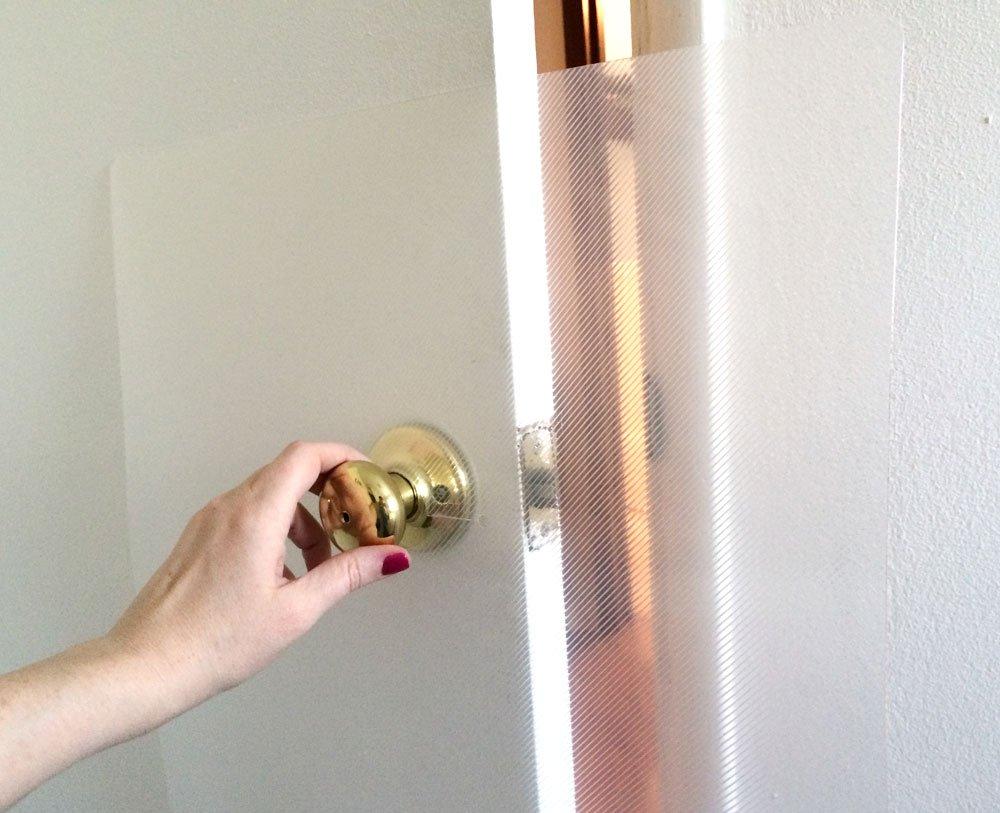 amazoncom the original clawguard the ultimate door scratch shield door and door frame protection pet doors and supplies pet supplies - Door And Door Frame
