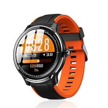 Smartwatch de Hombre 1,3 Pulgadas Full Touch Screen IP68 ...
