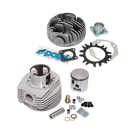 Amazon.com: Zylinderkit Polini 187 ccm Aluminium - für Vespa PX 125/150 - für 60mm Hub: Automotive