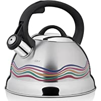 VICALINA Tea Kettle, Color Changing Whistling Kettle, Stainless Steel Teapot for Stovetop, 2.5 Liter/2.4 Quart