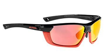 Alpina Tri-Scray Multiframe Outdoorsport-Brille, Black-Blue, One Size