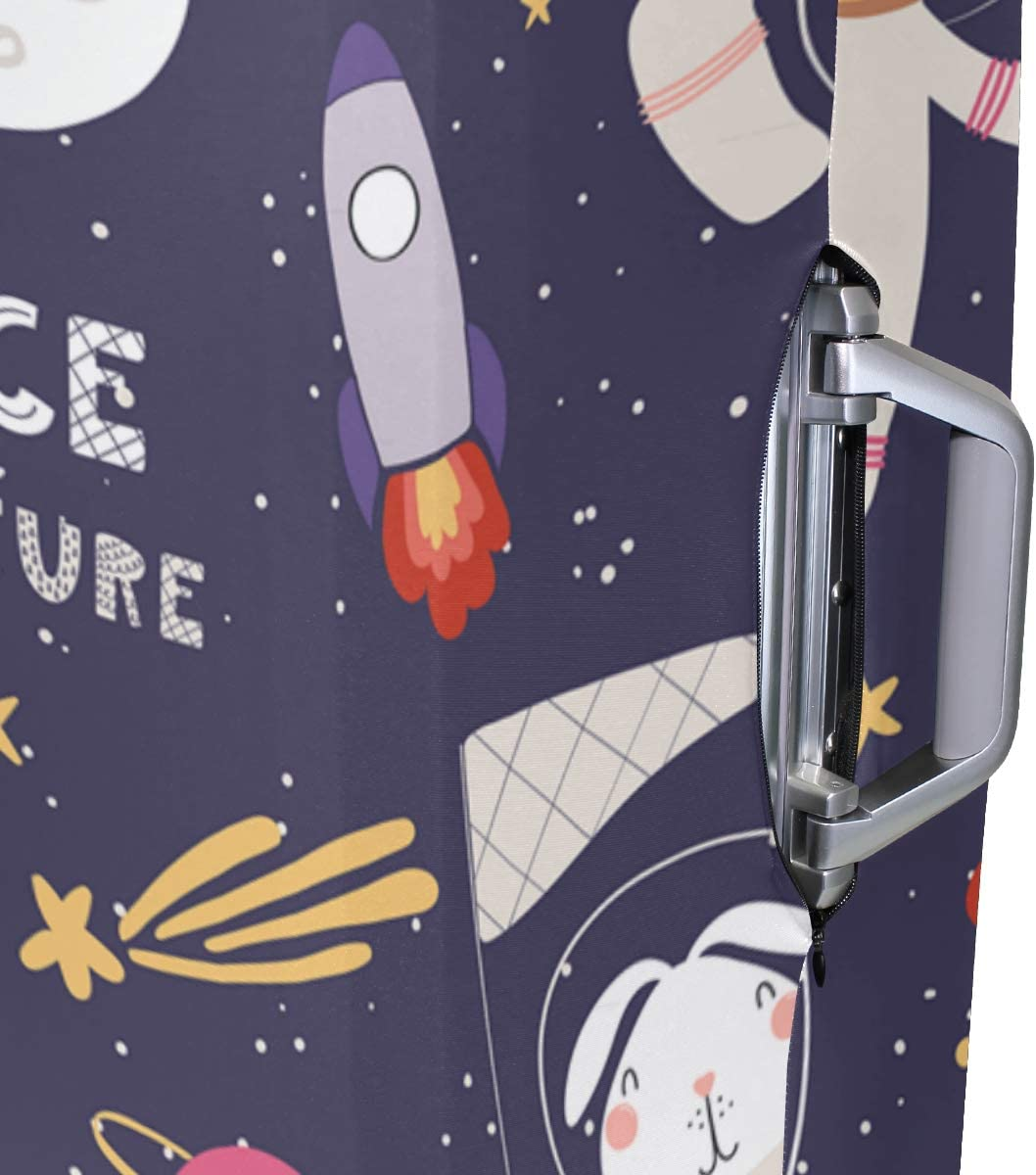 """Space Luggage Cover Travel Accessories18/""""-32/"""" Suitcase Cover For Most Suitcase Protector"""