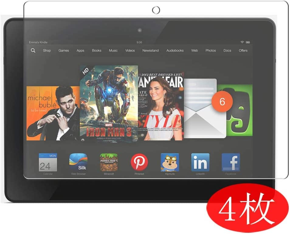 """Tablet Tempered Glass Screen Protector Cover For Amazon Kindle fire HDX 8.9/"""""""
