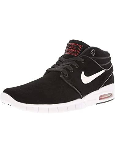 new concept 6397c dfbd5 Nike Men s Stefan Janoski Max Mid L Skateboarding Shoes Multicolored Size   5.5