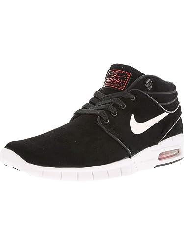 official photos 7cc0e 4a374 Nike Stefan Janoski Max Mid L, Chaussures de Skate Homme, (Noir Blanc