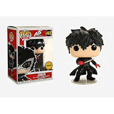 Funko POP! Games: Persona 5 - The Joker Unmasked Chase: Toys & Games