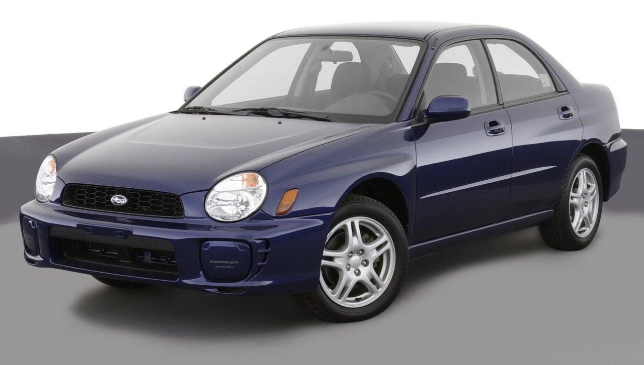 Amazon 2003 subaru legacy reviews images and specs vehicles 2003 subaru impreza wrx 4 door sedan automatic transmission wspoiler vanachro Image collections