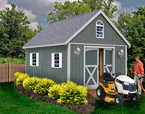 12 X 24 Shed (Best Barns Belmont 12 ft. x 24 ft. Wood Shed Kit)
