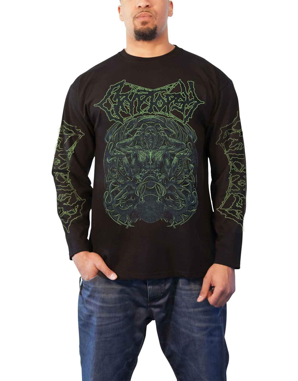 Cryptopsy T Shirt Morticole Band Logo S 1216