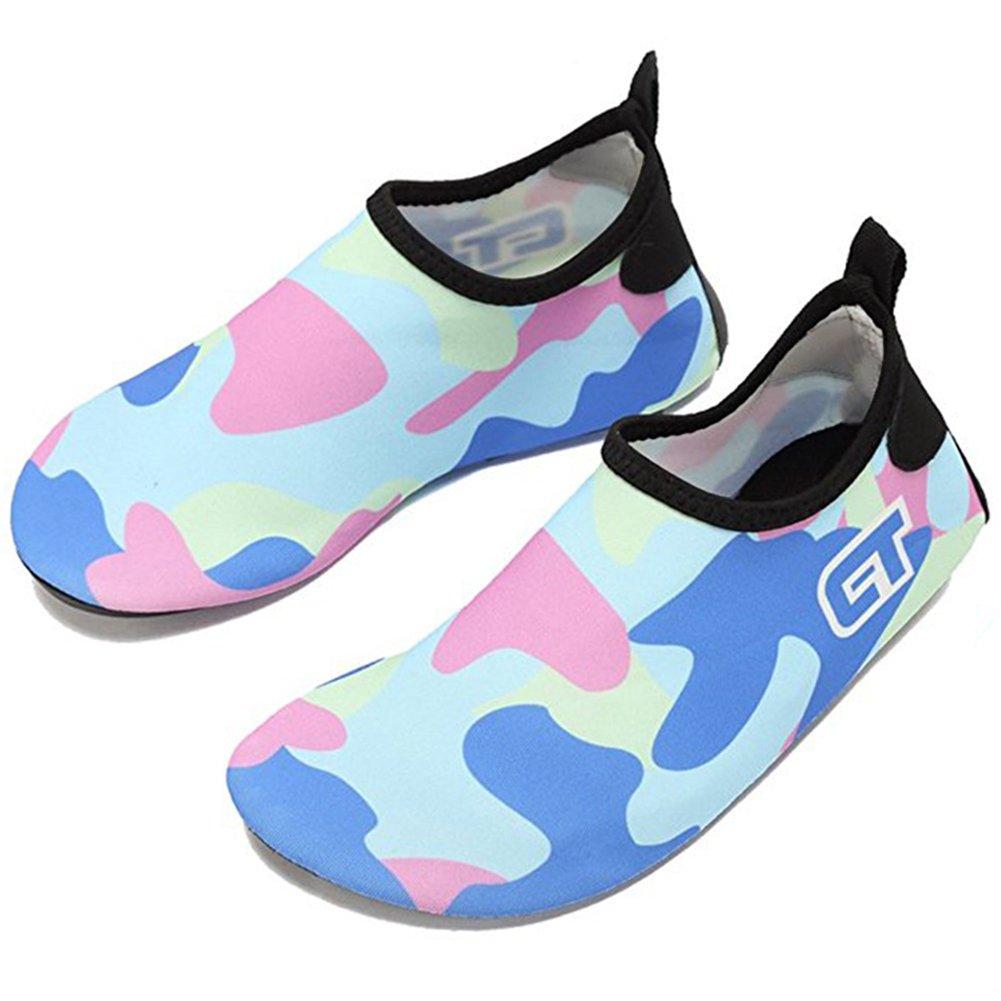 3658bf4a SUADEX Unisex Niños Niña Zapato de Agua Zapatos de Playa Natación Surf  Escarpines Aire Libre Calzado Ampliar imagen