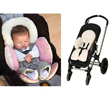 Seat Pad f/ür Baby Kinderwagen 【 Baby Kinderwagen Kissen Baumwolle 】 1/Universal Baby Kinderwagen Kissen