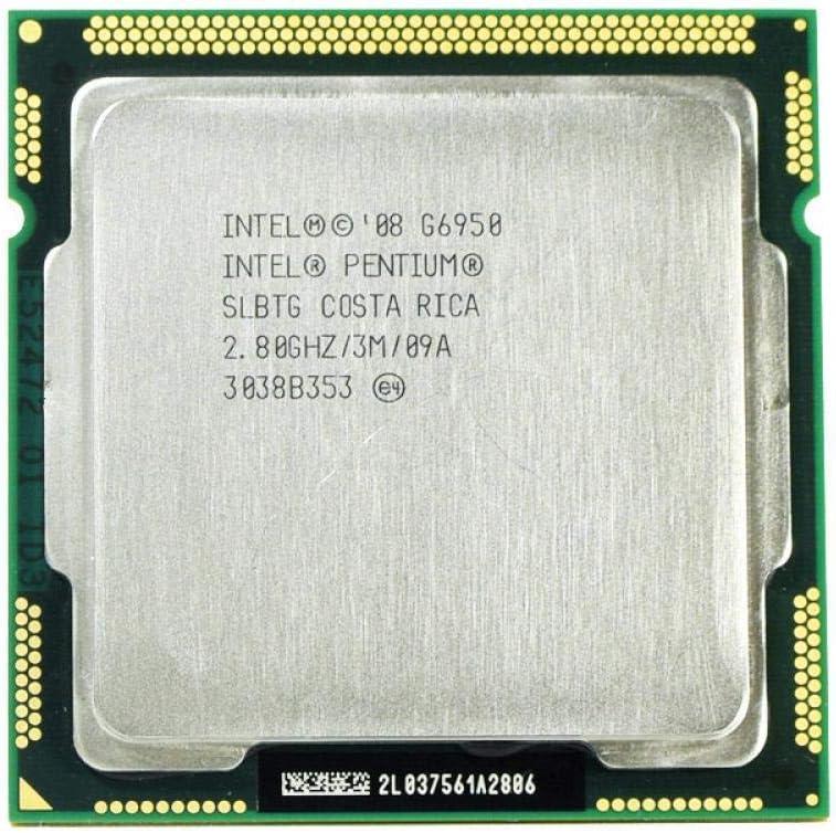 Intel Pentium G6950 Processor 2.8GHz 3MB Cache LGA1156 Dual-Core 73W Desktop CPU