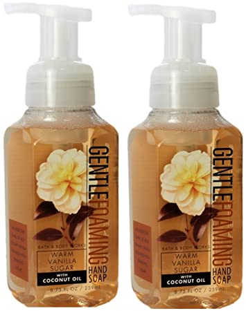 Amazon.com : Bath and Body Works Gentle Foaming Hand Soap, Warm ...
