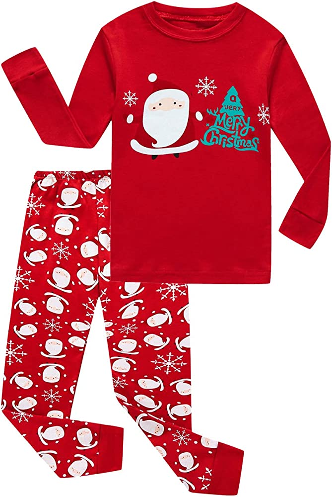 Family Feeling Pajamas Sets Little Big Girls Boys 100/% Cotton Kids PJS