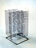 Arts & Crafts : Sax All-Steel Double Sided Wire Drying Rack, 17 x 20 x 30 inches, Steel, Black, Baked Enamel, 50 Shelf