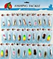 Gracious Hot Lot 30 pcs Trout Spoon Fishing Lures Bass Tackle Sporting Goods Fishing Spinners baits