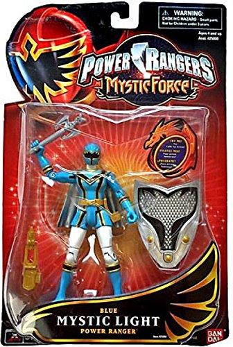 Power Rangers Mystic Force Mystic Light Action Figure Blue Power Ranger -