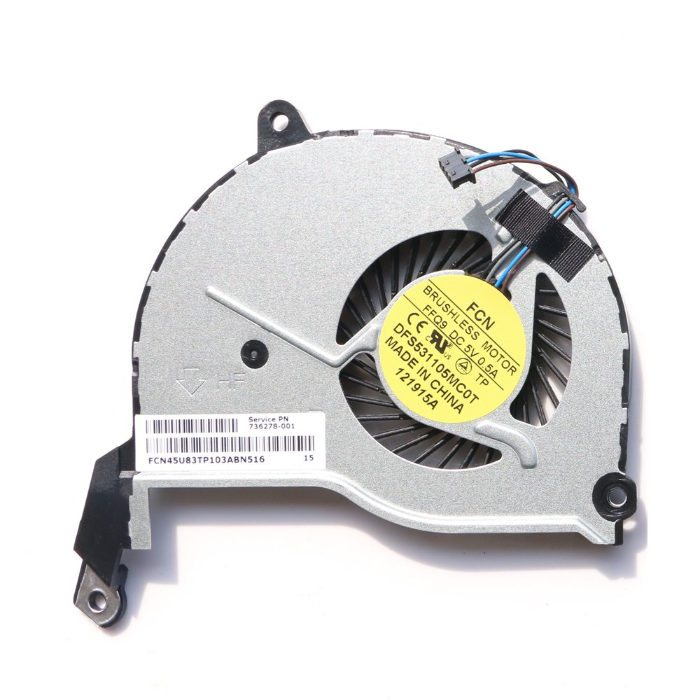 Cooler 736278-001 para HP Pavilion 15-N 15-N107AX TPN-Q132 TPN-Q131 TPN-Q130 TPN-Q129 15-n027se 15-n029er 15-n040us 15-n