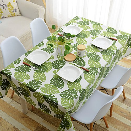 929 Dining Set (Cotton canvas tablecloth exquisite printing thicken canvas dinner picnic table cover home decoration-A 90x90cm(35x35inch))
