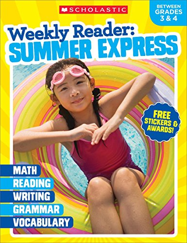 Weekly Reader: Summer Express (Between Grades 3 & 4) Workbook cover