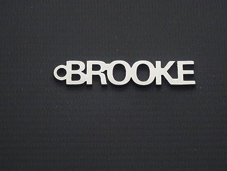 Brooke nombre llavero Key-Chain Porte-clés Schlüsselanhänger ...