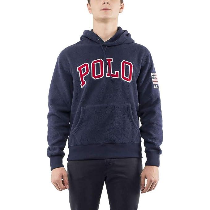 Sudadera con Capucha para Hombre Polo de Tejido Polar 696327-003 ...