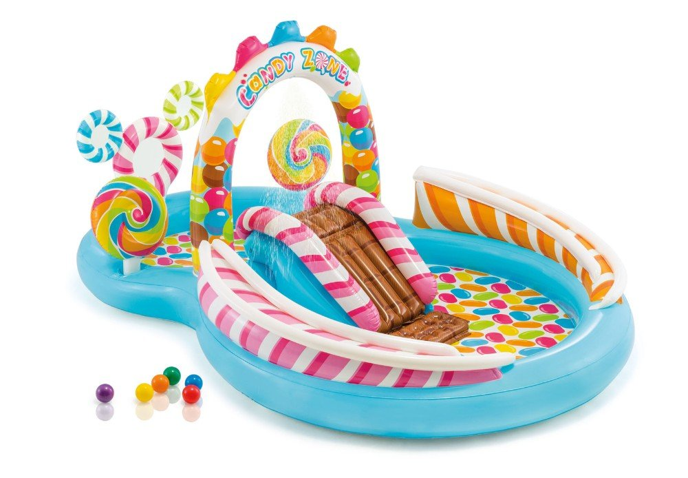 Amazon.com: Candy Zone hinchable para niños centro de juegos ...