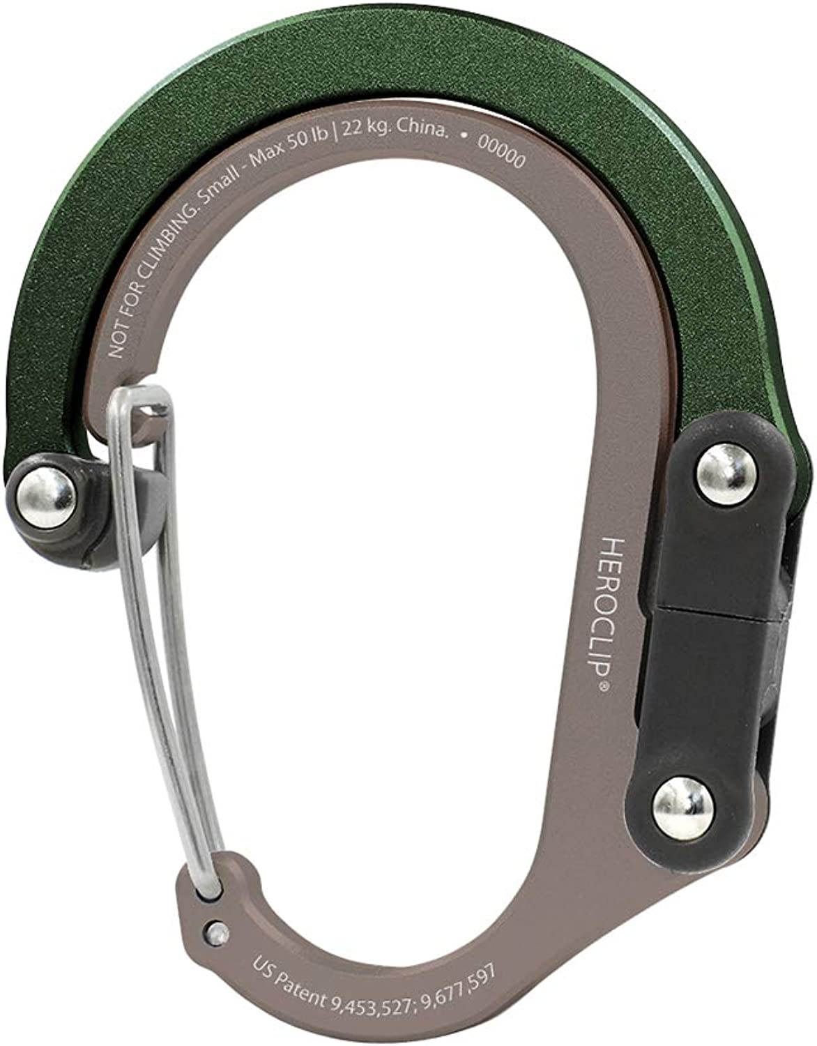 Small and Backpack Stroller HEROCLIP Carabiner Clip and Hook | for Purse