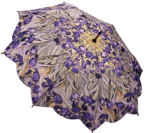 GALLERIA Umbrella Stick Van Gogh Irises, 1 EA